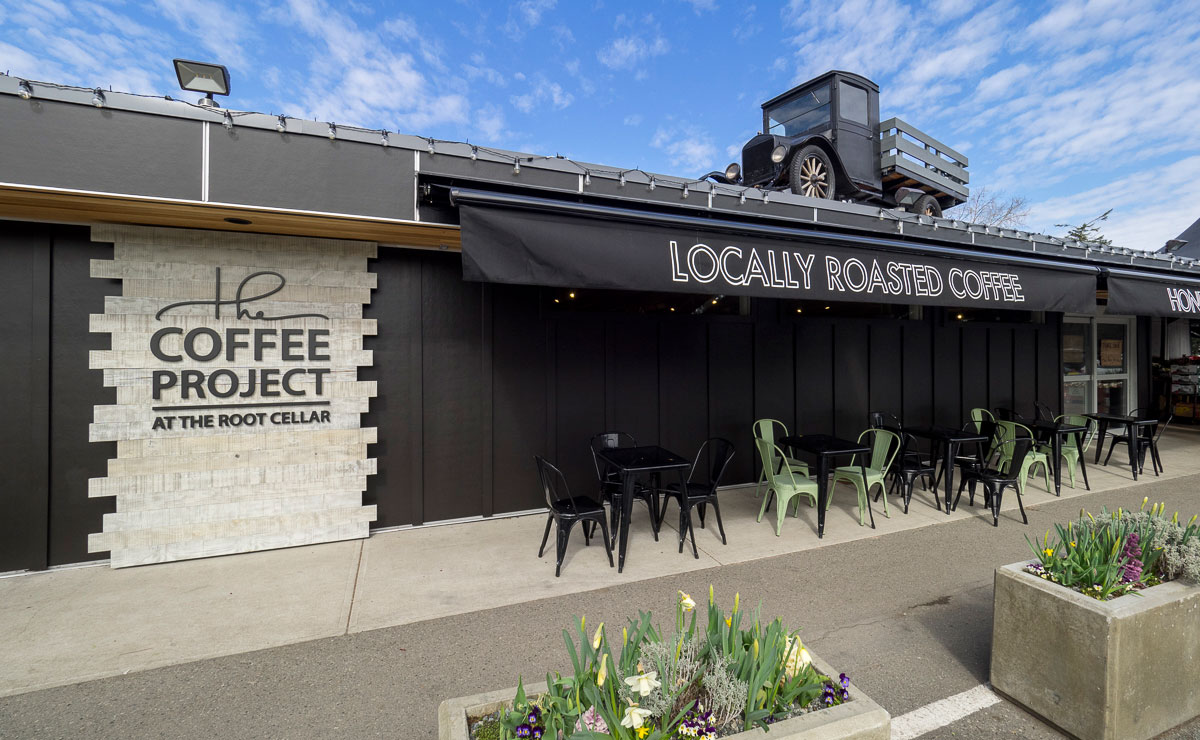 Victoria coffee shop renovations